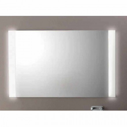 Agata bathroom mirror with LED light,  L1200xh.900 mm