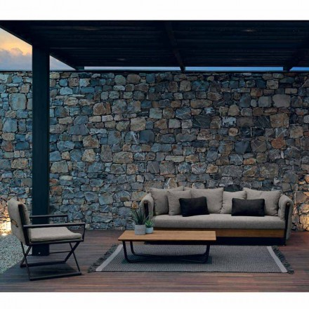 Outdoor living room set Domino by Talenti,  Italian design