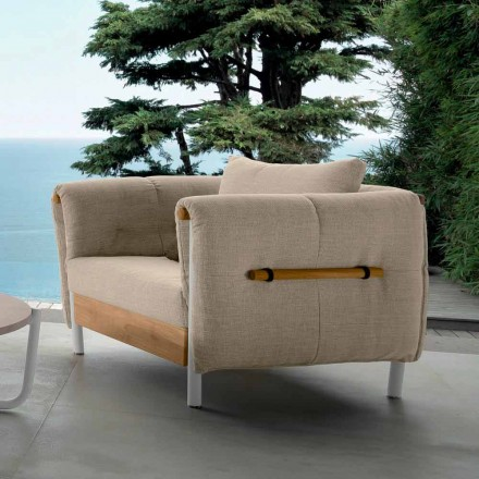 Talenti Domino garden design armchair made in Italy