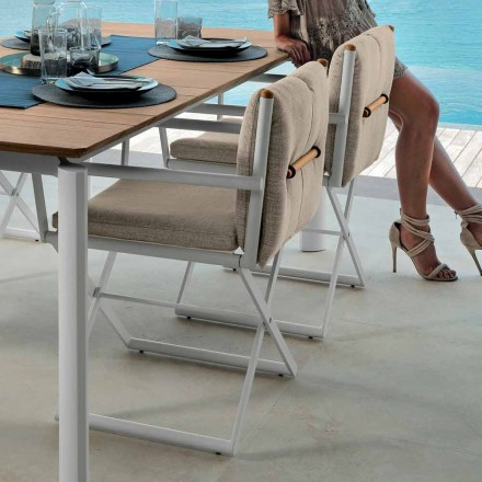 Talenti Domino director chair for outdoor design made in Italy