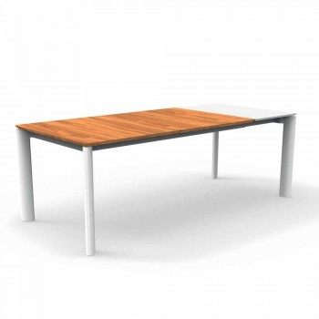 Talenti Domino extendable garden table 200 / 260cm made in Italy