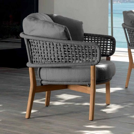 Talenti Moon modern design outdoor armchair made in Italy