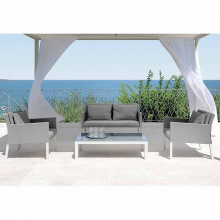 Outdoor living room set Step by Talenti, modern design made in Italy