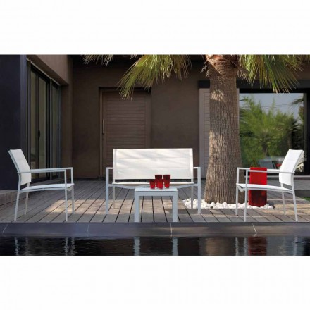 Talenti Touch outdoor living room composition of made in Italy design