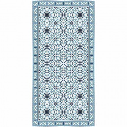 Modern Patterned Kitchen Rug in Pvc and Polyester - Lindia