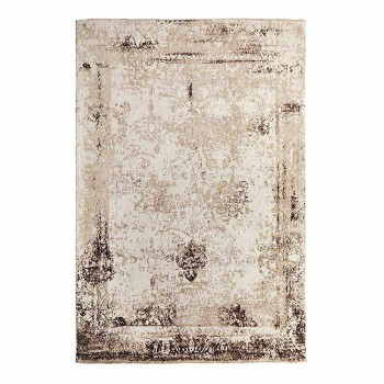 Vintage Design Living Room Rug Made of Polyester and Cotton - Hola