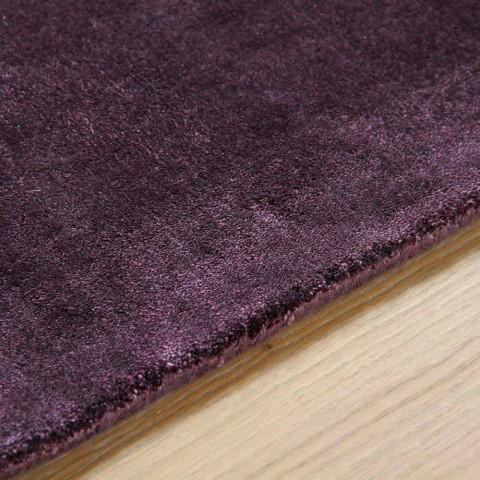 Large Colored Modern Design Silk Rug - Outlook