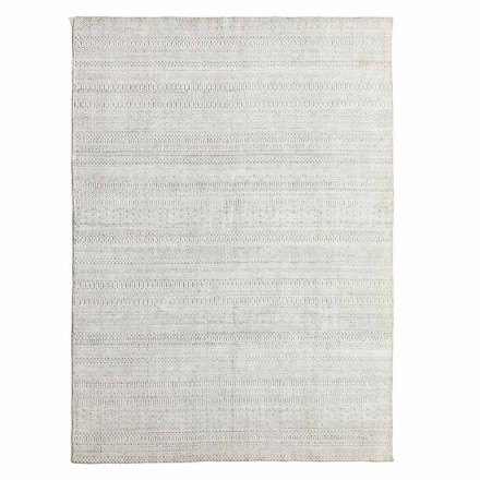 Modern Design Kitchen Rug in Wool, Viscose and Cotton - Liolla