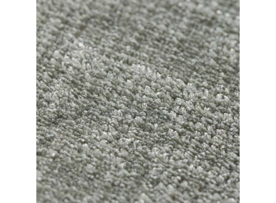 Customizable Versatile Viscose and Cotton Rug - Mutter