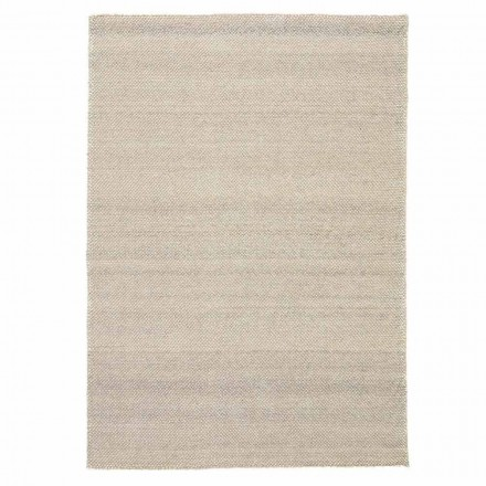 Modern Hand-Woven Polyester and Cotton Living Room Carpet - Soledad