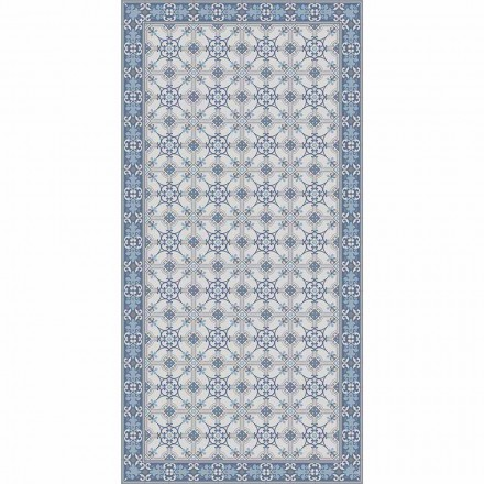 Design Living Room Carpet in Pvc and Polyester Rectangular Patterned - Chico