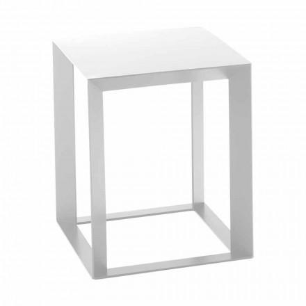 Square Design Metal Coffee Table 2 Dimensions - Josyane