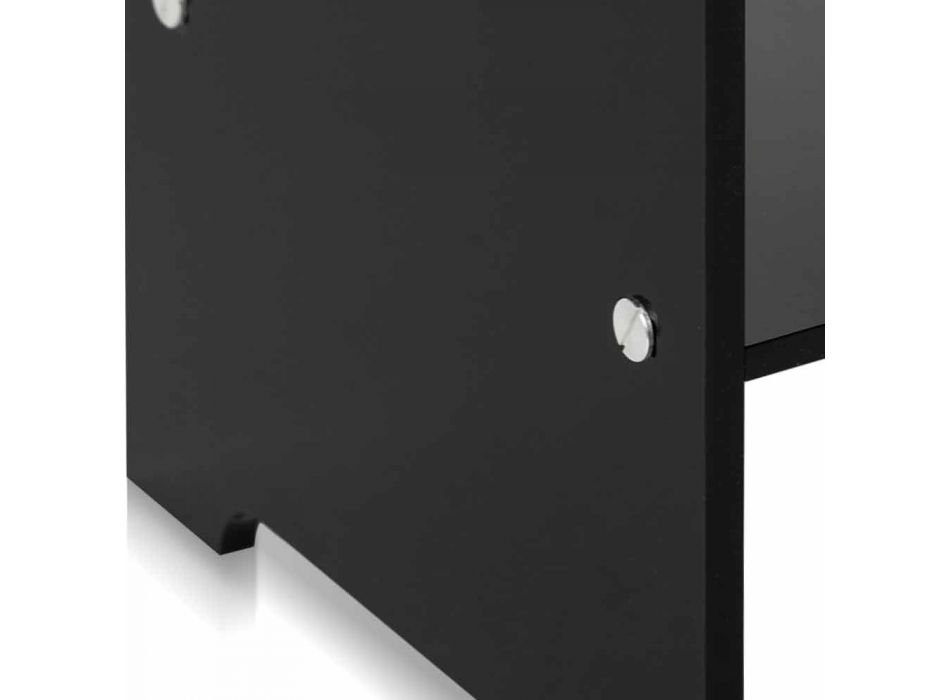 Contemporary black coffee table / nightstand Mimi, made in Italy