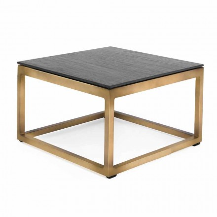 Square Design Outdoor Side Table 2 Dimensions 3 Finishes - Julie