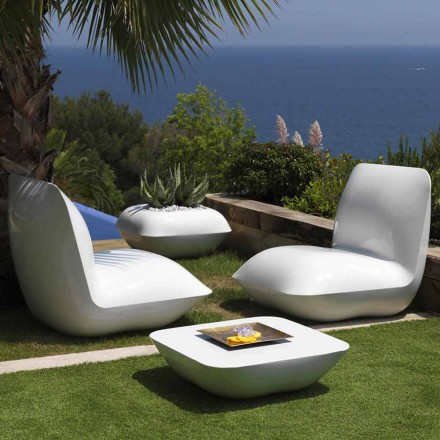 Outdoor coffee table Pillow Vondom, modern design 67x67 cm