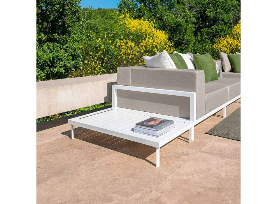 Aluminum Rectangular Outdoor Coffee Table - Cleo Alu by Talenti