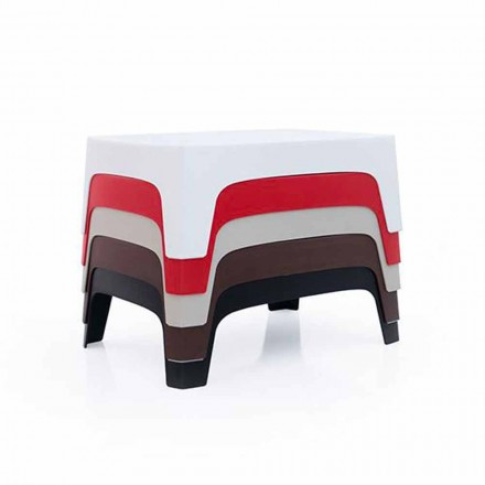 Outdoor coffee table Solid collection by Vondom in polypropylene