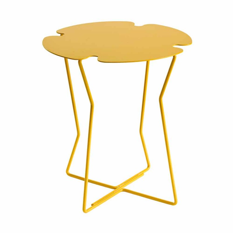 Coffee Table for Living Room in Metal, Design of Various Colors - Kathrin