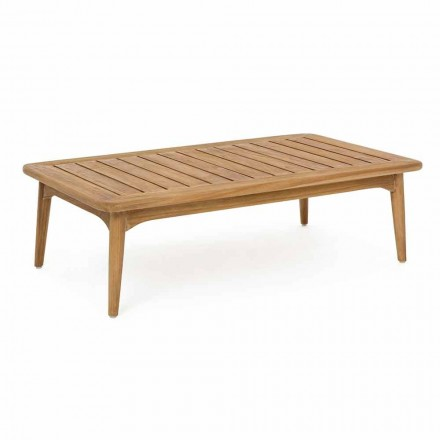 Homemotion Modern Teak Wood Outdoor Table - Luanaedmea