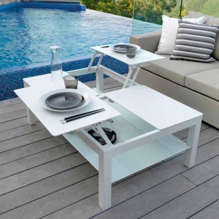 Modern design outdoor coffee table Chic Grande