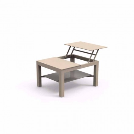 Modern design outdoor coffee table Chic Small