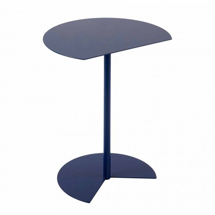 Modern Design Colored Metal Garden Coffee Table in 3 Sizes - Cettina