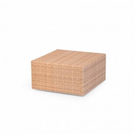 Polyethylene garden coffee table Cooper, handmade modern design