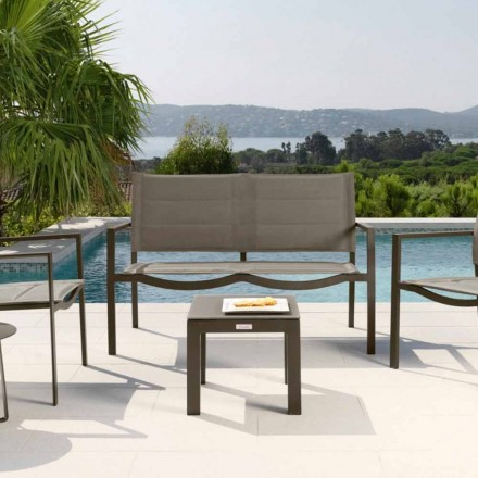 Modern design outdoor coffee table Touch by Talenti