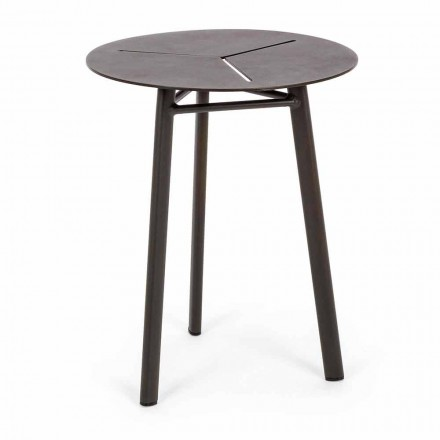 Round Garden Table in Aluminum of Homemotion Design - Nigerio