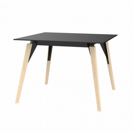 Coffee Table in Wood and Hpl Various Colors 2 Sizes - Faz Wood by Vondom