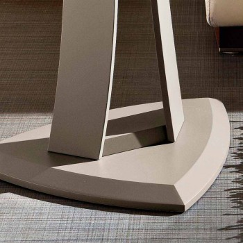 Coffee Table in Lacquered Mdf Made in Italy, High Quality - Lisa
