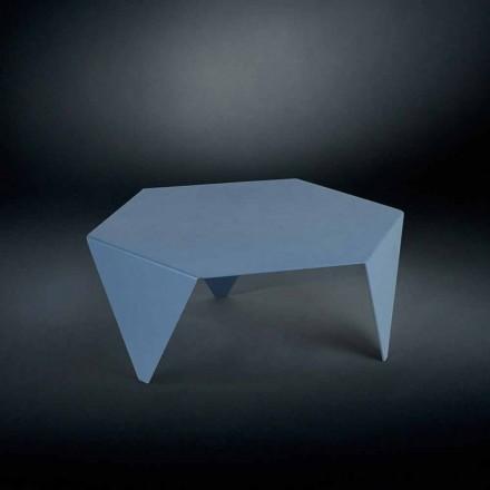 Laser cut metal coffee table Ruche, modern design