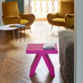 Indoor colored geometric coffee table Slide Toy, made in Italy
