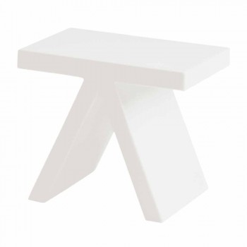Slide Toy indoor colored geometric coffee table made in Italy