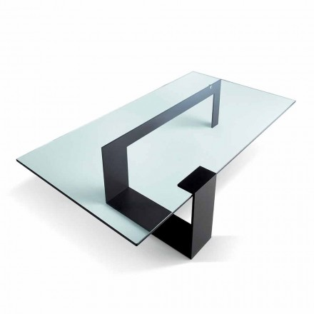 Modern Design Extralight Glass Coffee Table Made in Italy - Scoby