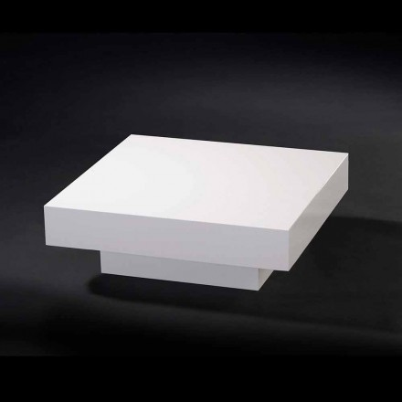 Wooden coffee table Loft Cadeau, coated with methacrylate