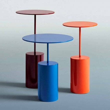 Modern Design Round Colored Table for Living Room - Cocktail