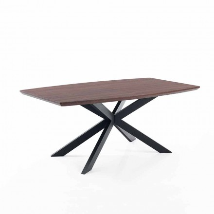 Design extendable table in Mdf and metal – Torquato