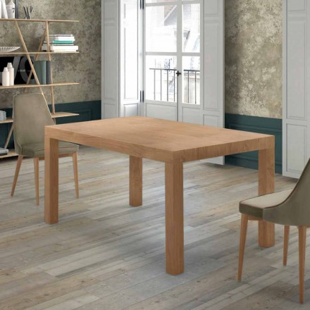 Extendable Table up to 470 cm in Venereed Wood Made in Italy – Gordito