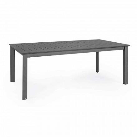 Extendable Outdoor Table in Aluminum Modern Design Homemotion - Casper