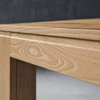 Extendable Oak Wood Table Made in Italy - Sondrio