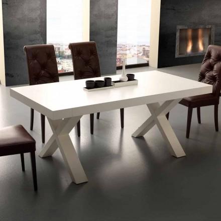 Modern extending table Denver, made of MDF