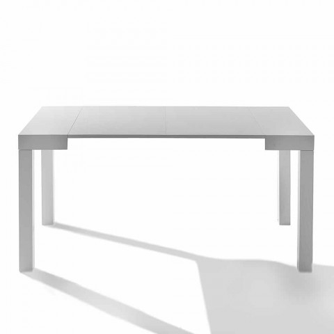 Extendable console table with legs Solid Woolf