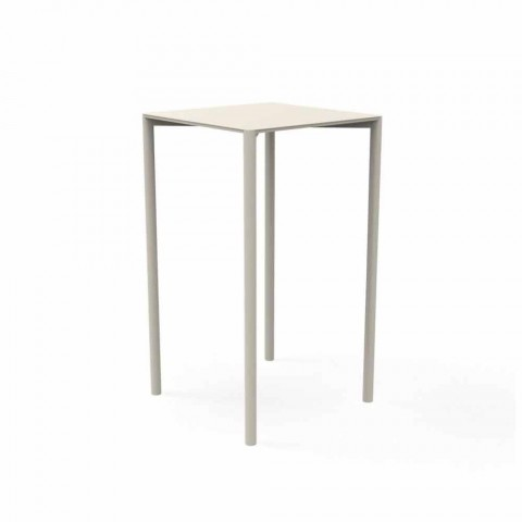 Tavoli Bar Da Esterno.Trocadero Modern Garden Bar Table By Talenti In Aluminum