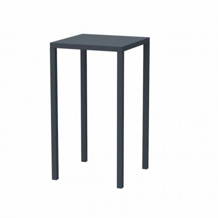 Square Bar Table in Painted Metal Made in Italy - Cuba