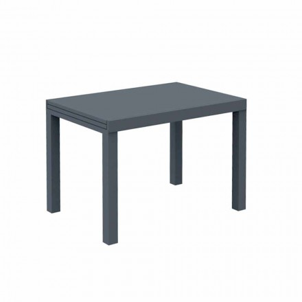Extendable Outdoor Table Up to 280 cm in Metal Made in Italy - Dego