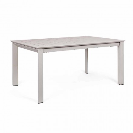 Extendable Outdoor Table Up to 240 cm in Aluminum Homemotion - Casper
