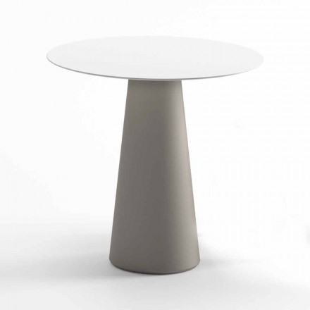Modern Outdoor Table in HPL and Opaque Polyethylene Made in Italy - Forlina
