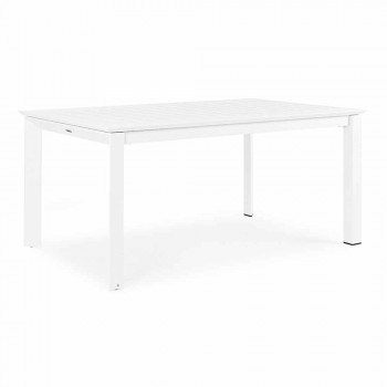 Extendable Garden Table Up to 240 cm in Aluminum Homemotion - Pemberton
