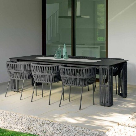 Extendable garden table up to 300 cm Cliff Talenti by Palomba